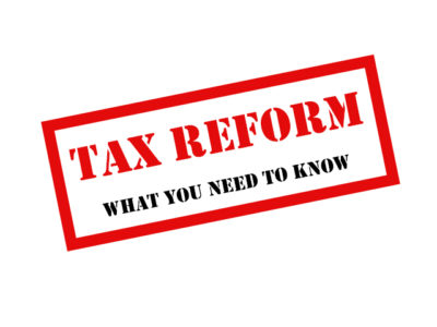 Concerned about how Tax Reform will affect you?
